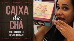 DIY | Faça Você Mesmo |Caixa de Chá com Pátina | Livia Fiorelli | Life A...