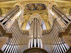 Wien, Jesuitenkirche - Prospektdetail