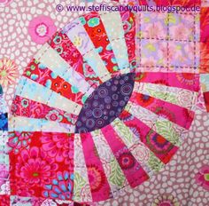 ...just Quilts: Quilting the Pickle Dish