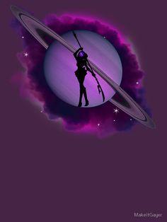 Sailor Saturn Sailor Jupiter, Sailor Saturn Crystal, Arte Sailor Moon, Sailor Moon Fan Art, Sailor Moon Character, Sailor Moon Manga, Sailor Uranus, Pink Neon Wallpaper, Sailor Moon Wallpaper