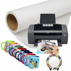 FL-75GSM Fast Dry Sublimation Paper for High Speed Printer (White Color)