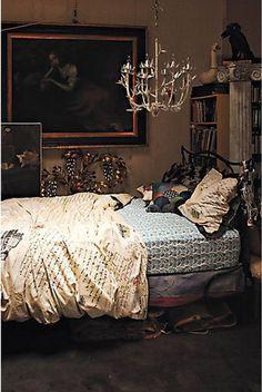 Diy room do over on pinterest coral bedding for Anthropologie bedroom ideas