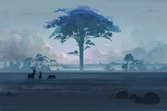 The Home Tree concept art by ~ani-r on deviantART