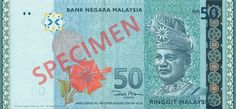 Oil palm and biotechnology are featured on the RM50 banknote as Malaysia's thriving economy icons. Oil palm has become the country's most valuable agricultural crop as Malaysia is one of the largest producer and exporter of palm oil in the world.  Find our more at http://www.bnm.gov.my/microsites/2011/banknotes/index.htm