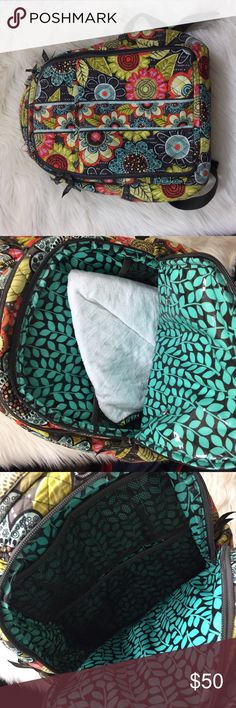 Vera Bradley baby backpack Vera Bradley baby backpack comes with changing pad Vera Bradley Accessories Bags