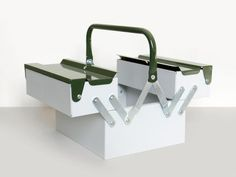 Metal Toolbox – Present & Correct Making Space, Tool Box, Steel, Instagram, Stationary, Organizing, Objects, Science, Storage