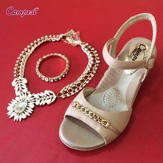 Comece a semana cheia de beleza e #conforto! #verão #shoes #moda Loja virtual: lojacampesi.com.br