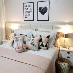 Decoration, Future House, Bed Pillows, Pillow Cases, Sweet Home, Inspiration, Design, Bedrooms, Home Decor