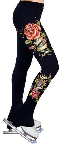 Ice Figure Skating Dress Practice Pants P30 - Adult Medium by ny2 Sportswear. $59.99. Inseam(inches): 32.5. Waist(inches): 27. Thigh(inches) : 18. Age: 14+. Hip(inches): 31.5. * Made with 88% SUPPLEX® fiber plus 12% LYCRA® fabric with all the comfort and fit that you need.     * Cotton-feel soft touch and aesthetics.     * 4-way stretch providing muscle support and allowing freedom of movement.     * Heavy weight fabric keeps you warm during practice.     * F...