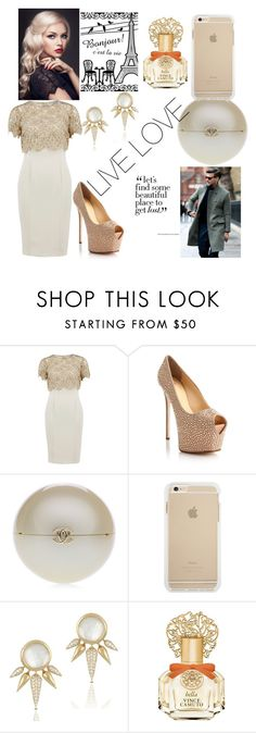 """""""LIVE LOVE"""" by kivericdamira ❤ liked on Polyvore featuring Gina Bacconi, Giuseppe Zanotti, Chanel and Vince Camuto"""
