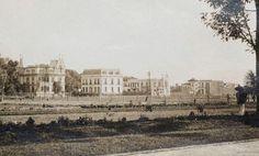 La colonia Juárez alrededor de 1910; la casa de la izq aún existe en Insurgentes y Hamburgo Cd Méx en el Tiempo (@cdmexeneltiempo) | Twitter