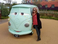 30 best FILLMORE CARS images on Pinterest   Fillmore cars  Vw camper     Photo with the hippie van from Cars  Too cute