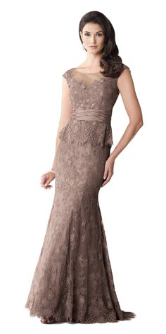 Ivonne D 114D38 Lace Mother of the Bride Dress