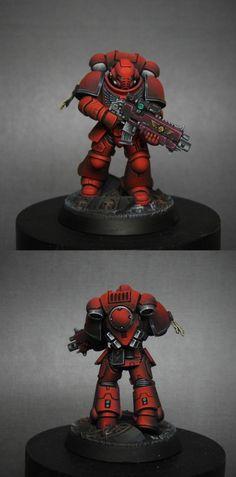 Blood Angels Primaris Space Marine Intercessor