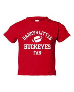 Cool Daddys Little Buckeyes Fan TShirt Fantastic Buckeyes Fans TShirt Makes Great Gift For Ohio St Buckeyes Fans Kids, toddler, infant shirt