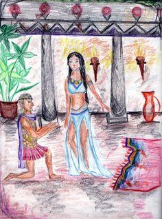 Age 12 ~ Roman History ~ Caesar & Cleopatra ~ main lesson book