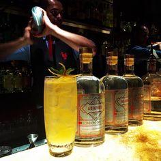 Pra encerrar Gin Arapuru com cerveja Hoegaarden jerez honey e club soda. Fantástico! #arapurugin #gin