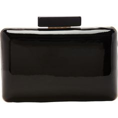 J. Furmani Lisa Clutch (43 CAD) ❤ liked on Polyvore featuring bags, handbags, clutches, black, evening bags, hard clutch, velvet evening bag, chain purse, velvet purse and man bag
