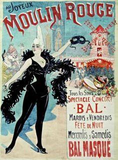 vintage can can Illustration Parisienne, Paris Illustration, Digital Illustration, Vintage Advertisements, Vintage Ads, Vintage Posters, French Posters, Retro Posters, Vintage Labels