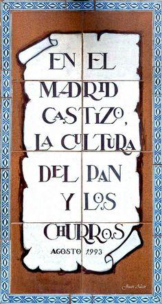 Azulejos. Panadería Pan Caliente (Madrid)