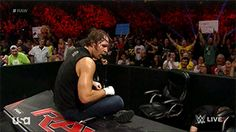 I think someone in the audience gave Dean a great idea<3<3<3<3<3<3