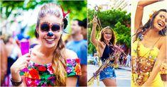 5 ideias para fantasias de carnaval, super simples e fáceis de copiar. Corre que ainda dá tempo de sambar linda e fantasiada por aí.