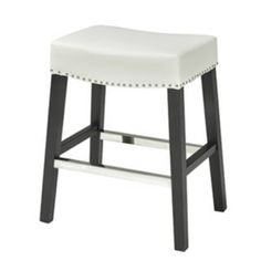 Modern Furniture :: Stools :: RX-6214 Saddle Seat Leather Counter/Bar Stools - ARTeFAC USA