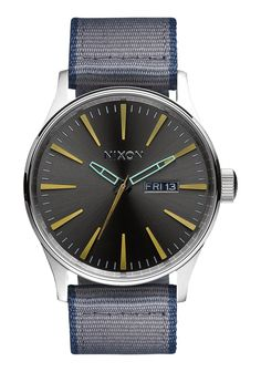 Sentry Leather | Men's Watches | Nixon Watches and Premium Accessories