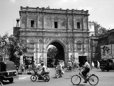 The great khambhadiya gate in Jamnagar, Gujarat, India.