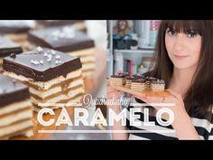 Esta Receita não tem Erro! Além de ser Suuuuper Fácil, tem Chocolate, Caramelo e Biscoito! Vamos Fazer? ;D ----------------------------------------...
