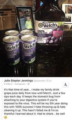 Flu Remedies This is what we do! Glad my bub loves his grape juice Home Health Remedies, Natural Health Remedies, Herbal Remedies, Health And Nutrition, Health And Wellness, Nutrition Education, Protein, Health And Beauty Tips, Natural Medicine