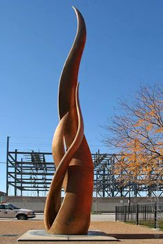 Public Art in Chicago: Site of origin of the Great Chicago Fire of 1871