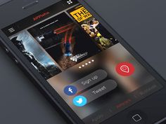 Movie app Pull down / Levani Ambokadze