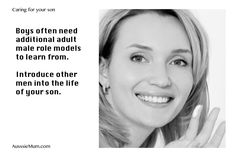 AusssieMums.Com is a place to find lots of ideas to help you grow your son into a great man.