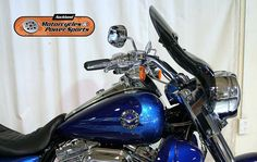 2013 HARLEY DAVIDSON FLHRSE5 in Blue/Blue  At Auckland Motorcycles & Power Sports,   New Zealand www.amps.co.nz