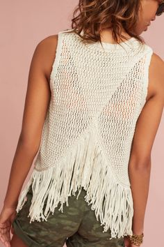 Shop the Fringed Sweater Tank and more Anthropologie at Anthropologie today. Read customer reviews, discover product details and more.