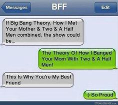 I'd probably watch that - Funny text messages