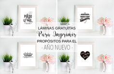 Laminas Imprimibles Objetivos Año Nuevo