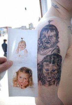 Horrible Portrait Tattoos (38 pics) - Izismile.com