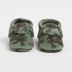 Freshly Picked Signature Collection - Camo Moccasins