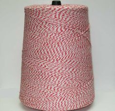 red and white bakers twine from country clean paper supplies.