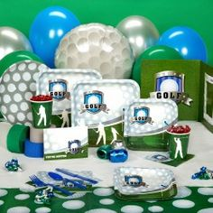 golf party theme paper good @USHoleInOne