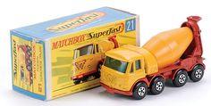 Matchbox Superfast MB21-d Foden Concrete Truck