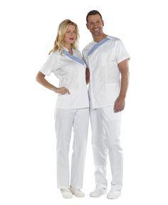 CASACA GAVA MANGA CORTA MUJER Scrubs, Clinic, Shoes, Style, Fashion, Nurse Scrub Outfits, Sewing Tips, Men Fashion, Manish