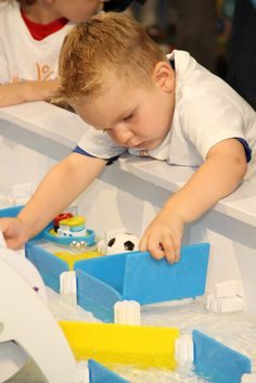 Tots can splash and play with our new giant 16 x 5-foot water table!