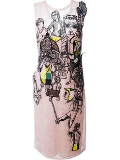 Comprar Emilio Pucci vestido suelto con capa superpuesta bordada en Gaudenzi from the world's best independent boutiques at farfetch.com. Shop 300 boutiques at one address.