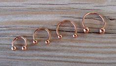 Rose Gold Horseshoe Circular Barbell Septum Helix Cartilage Scaffold Upper Ear Lobe Nose Ring Body Jewelry L Surgical Steel Gauge mm Barbell Diameter mm with mm balls Diameter mm with Septum Piercing Jewelry, Nose Jewelry, Rook Piercing, Cartilage Piercings, Barbell Piercing, Jewlery, Elf Ear Cuff, Ear Chain, Circular Barbell