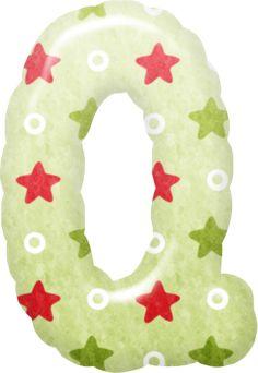 red-stars-alphabet-011.png 286×415 píxeles