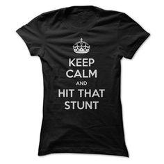 Cheerleaders Keep Calm And Hit That Stunt T-Shirts, Hoodies. VIEW DETAIL ==►…