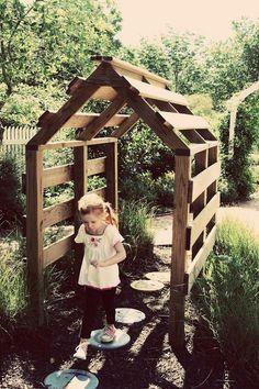 garden arbor for kids